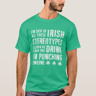 NSPF Funny Irish Stereotypes T-Shirt