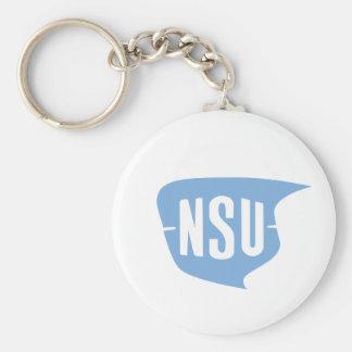 NSU Logo Keychain