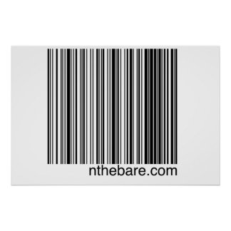 how to create a barcode for a poster