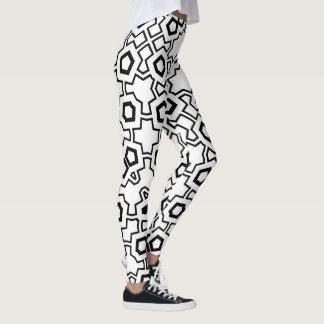 NTPD5550P215849 Geometric Print All Over Leggings