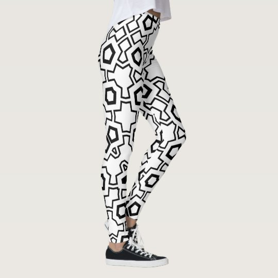 NTPD5550P215849 Geometric Print All Over Leggings