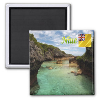NU - Niue - Limu Pools Magnet