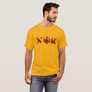 Nu Phi Zeta Gold T T-Shirt