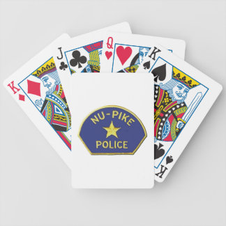 Nu-Pike Police Bicycle Playing Cards
