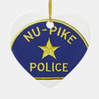 Nu-Pike Police Ceramic Ornament