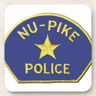 Nu-Pike Police Drink Coasters