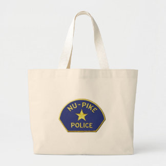 Nu-Pike Police Large Tote Bag