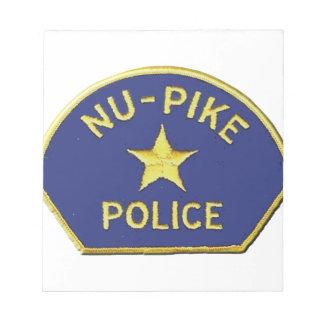 Nu-Pike Police Notepad