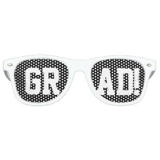 """Nuances de partie de """"diplômé"""" lunettes de soleil"""