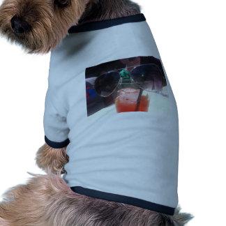 Nuances potables t-shirts pour animaux domestiques