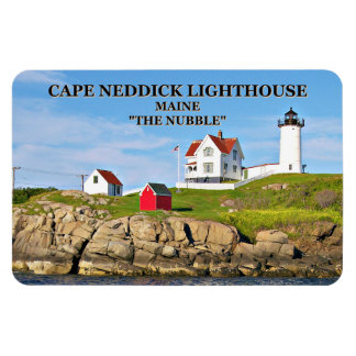 Nubble Light, Cape Neddick Maine Flexi Magnet