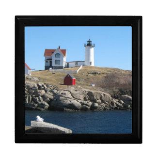 Nubble Light Cape Neddick Maine Gift Box