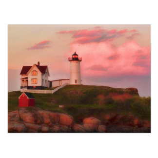Nubble Light Post Card