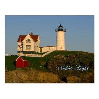 Nubble Light, York, Maine    Postcard