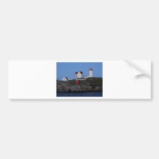 Nubble Lighthouse at Night Bumper Sticker