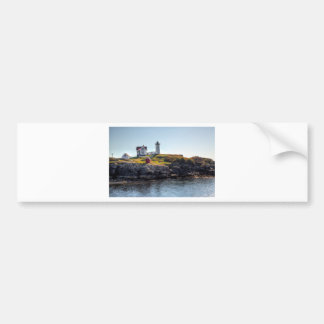 Nubble Lighthouse Bumper Sticker