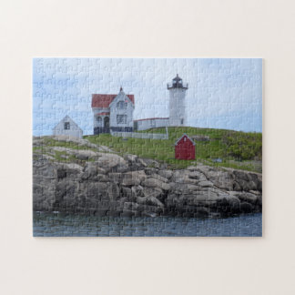 Nubble Lighthouse - Maine Jigsaw Puzzle