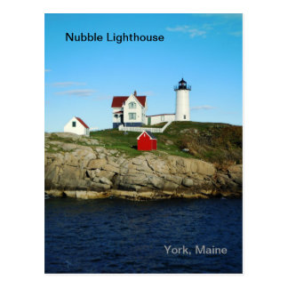 Nubble Lighthouse Postcard