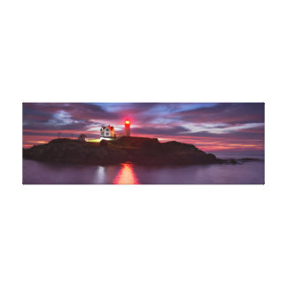 Nubble Lighthouse Wrapped Canvas
