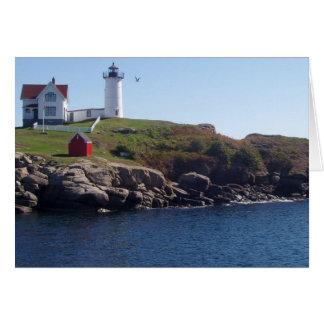Nubbles Lighthouse-Maine Card