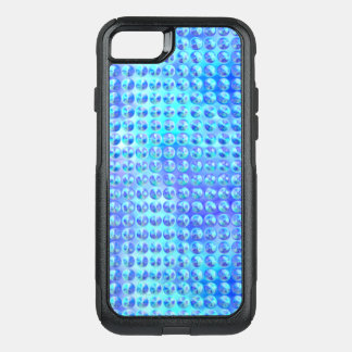 Nubby Blue Glass OtterBox Commuter iPhone 8/7 Case