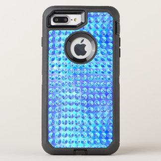 Nubby Blue Glass OtterBox Defender iPhone 8 Plus/7 Plus Case