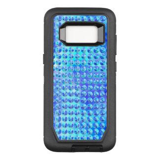 Nubby Blue Glass OtterBox Defender Samsung Galaxy S8 Case