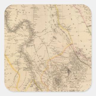 Nubia, Abyssinia 2 Square Sticker