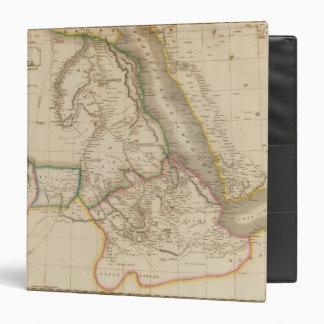 Nubia, Abyssinia, Africa 3 Ring Binder