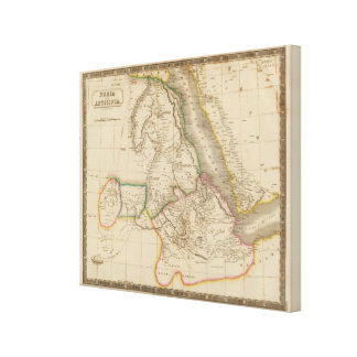 Nubia, Abyssinia, Africa Gallery Wrap Canvas