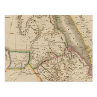 Nubia, Abyssinia, Africa Postcard