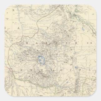 Nubia, Abyssinia Square Sticker