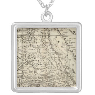 Nubia and Abissinia, Africa Personalized Necklace