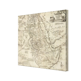 Nubia and Abissinia, Africa Stretched Canvas Prints