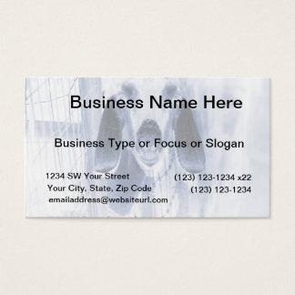Nubian doe head on invert business card