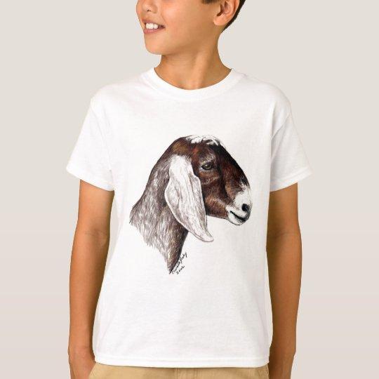 Nubian Goat Art T Shirt