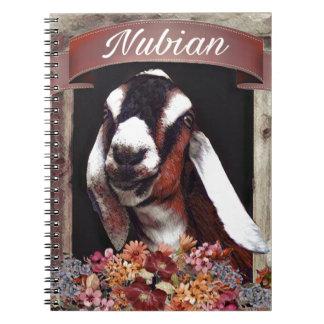 Nubian Goat Notebook