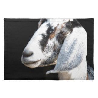 nubian goat placemat