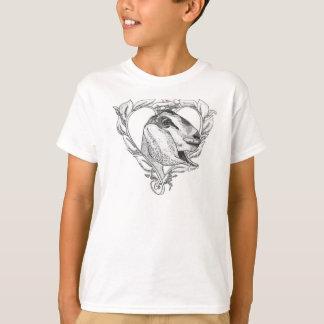 Nubian Head in Heart T-Shirt