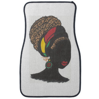 Nubian Queen Car Mat