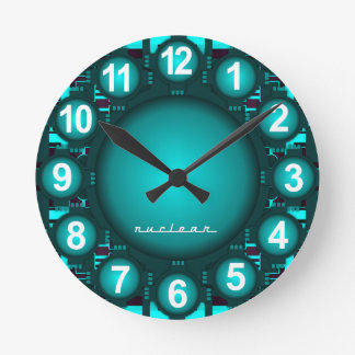 Nuclear Atomic High Tech Clock