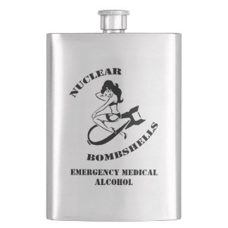 Nuclear Bombshells Medical Alcohol Flask