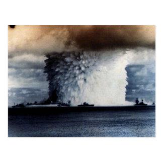 NUCLEAR EXPLOSION POSTCARD