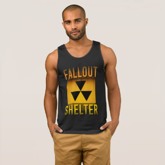 Nuclear Fallout Shelter Retro Atomic Age Grunge :