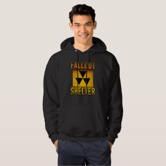 Nuclear Fallout Shelter Retro Atomic Age Grunge : Hoodie