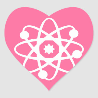Nuclear Goods Heart Sticker