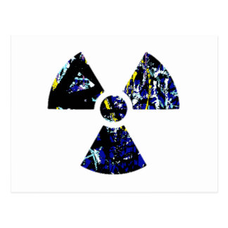 Nuclear Graffiti Postcard