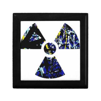 Nuclear Graffiti Trinket Box