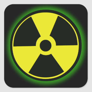 Nuclear Hazard Sticker