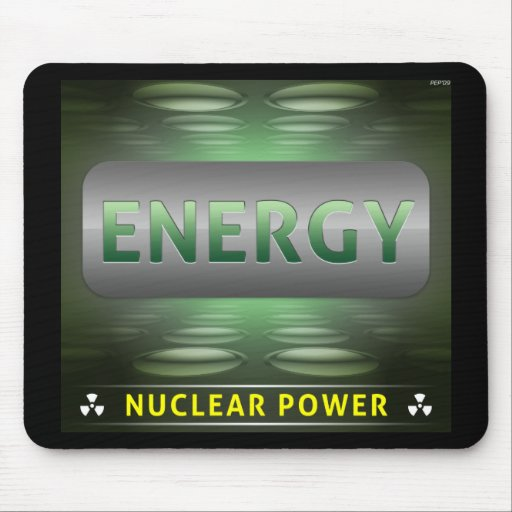 Nuclear Is Clean Energy Mouse Mats